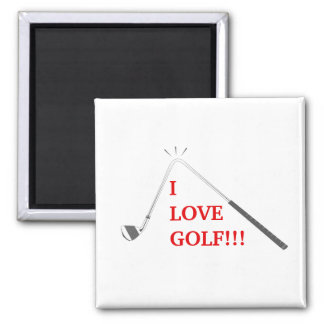 Aimant J'aime le golf !