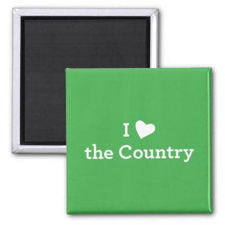 Aimant J'aime le pays