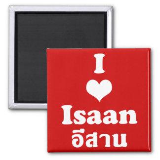 Aimant J'aime le ❤ Thaïlande d'Isaan