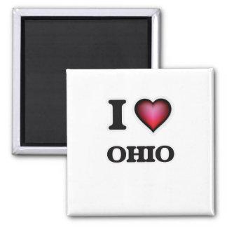 Aimant J'aime l'Ohio