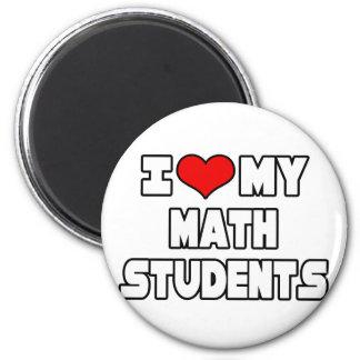 Aimant J'aime mes étudiants de maths