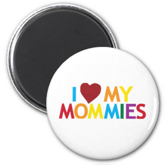 Aimant J'aime mes mères