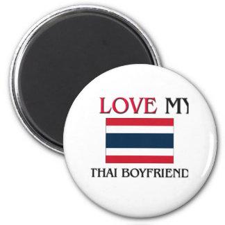 Aimant J'aime mon ami thaïlandais