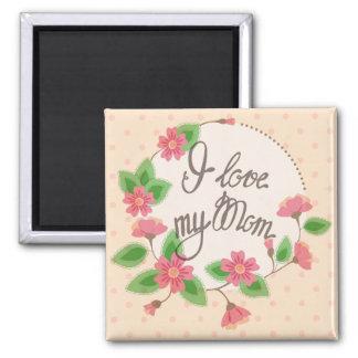Aimant J'aime mon cru d'aimant de maman