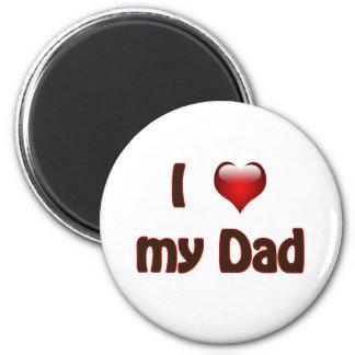 Aimant J'aime mon papa