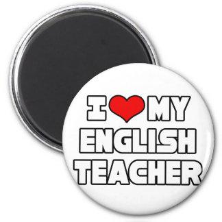 Aimant J'aime mon professeur d'Anglais
