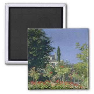Aimant Jardin fleurissant de Claude Monet | chez