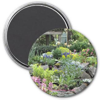 Aimant Jardin PhotOriginal de cottage de ressort