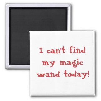 Aimant Je ne peux pas trouver ma baguette magique magique