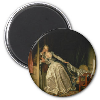 Aimant Jean-Honore Fragonard - le baiser volé -