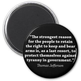 Aimant Jefferson : DROIT DE SOUTENIR DES BRAS