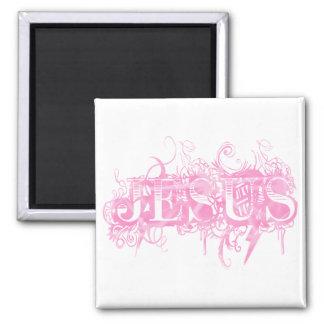 Aimant Jesus UltraDéco Rose