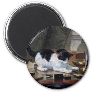 Aimant Jeu du chaton par Henriëtte Ronner-Knip