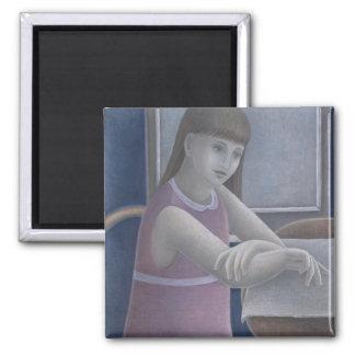 Aimant Jeune fille lisant 2008