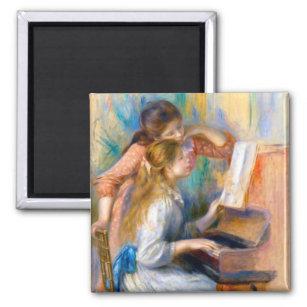 Aimant de r/éfrig/érateur Painting classic art fridge magnet Pierre-auguste Renoir
