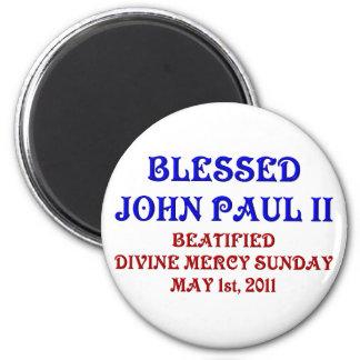 Aimant John Paul béni 2