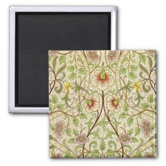 Aimant Jonquille vintage à la mode de papier peint floral