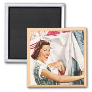 Ann es 50 femme foyer humour magnets for Femme au foyer annees 50