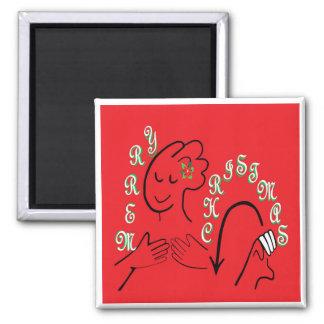 Aimant Joyeux Noël d'ASL