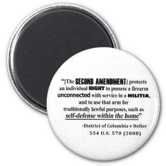 Aimant Jurisprudence d'amendement de dc v Heller en