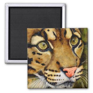 Aimant La chasseuse - léopard opacifié