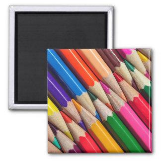 Aimant la couleur crayonne la texture d'arrière - plan de