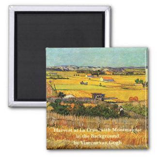 Aimant La Crau, Montmajour, beaux-arts de récolte de Van
