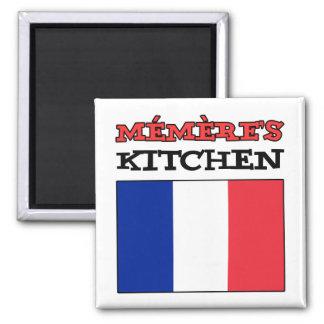 Aimant La cuisine de Memere avec le drapeau de la France