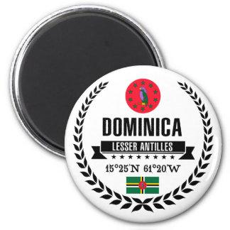 Aimant La Dominique