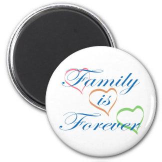 Aimant La famille est Forever