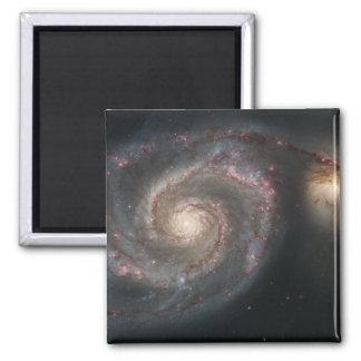 Aimant La galaxie de tourbillon (M51) et galaxie de