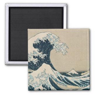 Aimant La grande vague outre de Kanagawa