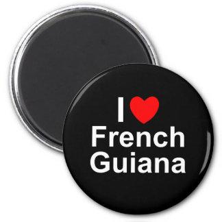 Aimant La Guyane française française