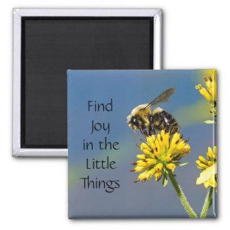 Aimant La joie de découverte dans les petites choses