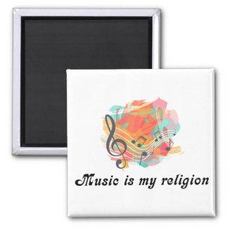 Aimant La musique est ma religion