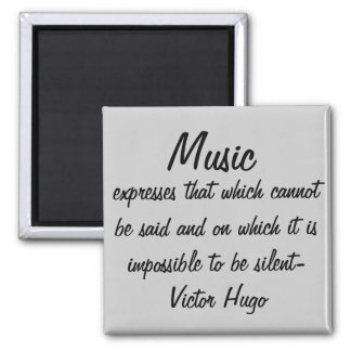 Aimant La musique exprime…