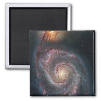 Aimant La NASA de galaxie en spirale du tourbillon M51