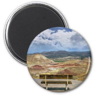 Aimant La négligence aux collines peintes en Orégon