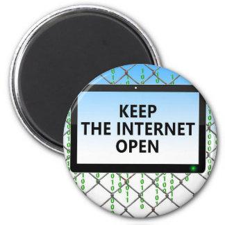 Aimant La neutralité nette | maintiennent l'Internet