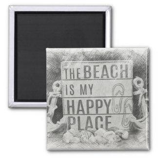 Aimant La plage