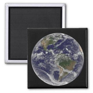 Aimant La pleine terre montrant l'Amérique du Nord et des