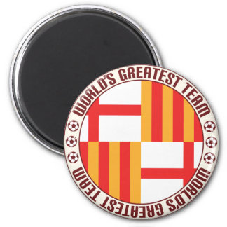 Aimant La plus grande équipe de Barcelone