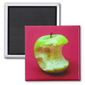 Aimant La pomme verte a grignoté