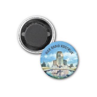Aimant La radio Kootwijk button