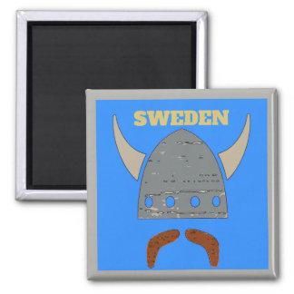 Aimant La Suède, tête de Viking