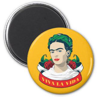 Aimant La Vida de vivats de Frida Kahlo |