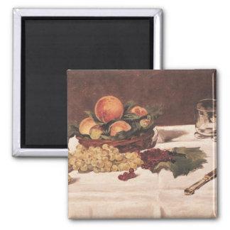 Aimant La vie de Manet | toujours : Fruit sur un Tableau,