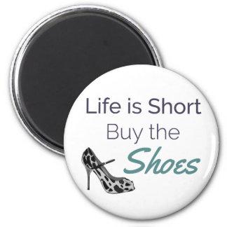 Aimant La vie est achat court la citation de chaussures