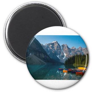Aimant Lac louise en parc national Alberta, Canada de