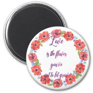 Aimant L'amour est la fleur